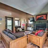 Spacious Rustic Condo with Deck, Short Walk to Slopes