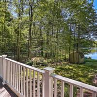 Lakefront Milford Home with Pvt Dock and Hot Tub!