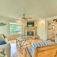 Badin Lake Cabin with Dock & 2-Story Boat Slip!