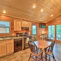 Heber Springs Retreat with Riverfront Patio and Dock!