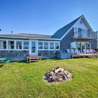 Shorefront House with Views, 14 Mi to Acadia NP!