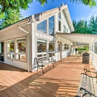 Hood Canal Home with Hot Tub Bordering Olympic NP!, hotel in Brinnon