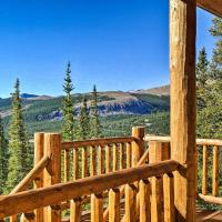 Grand Fairplay Cabin with Deck and Mountain Views, hotel in Fairplay