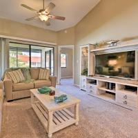 Titusville Condo with Comm Pool and Screened Patio