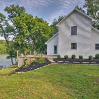 Riverfront House with Patio and Grill & Fishing Pier!