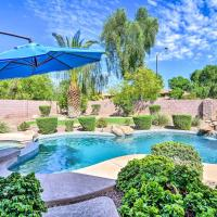 Tranquil Oasis with Fire Pit and Bar about 1 Mi to SanTan!