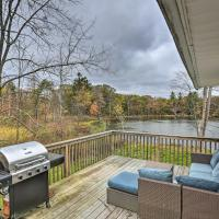 Upstate Family Lake House with Game Room & Deck!