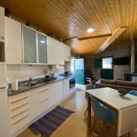 Casa Rústica T2 com Salamandra e Cozinha - Seia - Serra da Estrela - Casa do Loureiro II