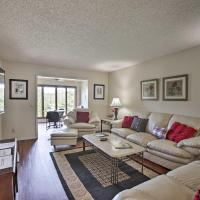 Golf Course Front Townhome Near Mtn Biking Trails!