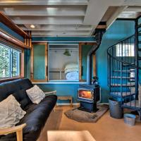 Nederland Cabin with Fireplace, Mtn Divide Views