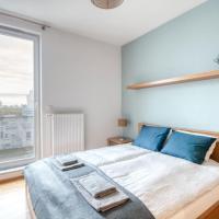 VIVE Modern 3-bedroom flat in guarded estate, parking