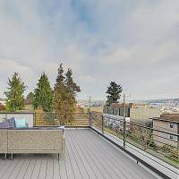 New Listing! New-Build Ballard Home: Rooftop Deck home