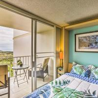 Makaha Studio with Mtn and Ocean Views - 1 Mi to Beach!, hotel in Waianae
