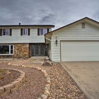 Colorado Springs Home with Big Patio in the Bluffs!