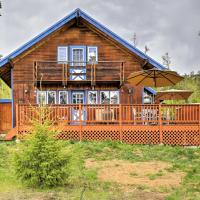 Quiet Ski Lodge on 1 Acre Pet Friendly and BBQ Deck