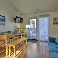 Cozy Condo with Private Deck, Walk to Beach and Dining