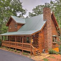 Log Cabin with Deck in Chattahoochee Nat'l Forest!