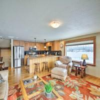 Condo with Porch and Mountain View on Lake Pend Oreille
