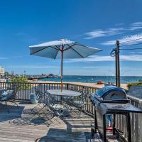 Beachfront P-town Apt. w/ Shared Deck+Views!