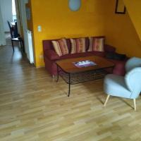 Maisonettewohnung auf 2 Etagen mit zwei Balkonen, Hotel in Barth