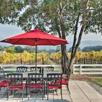 Beautiful Sonoma House with Patio & Vineyard Views!