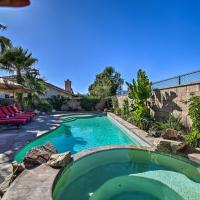 La Quinta Home with Saltwater Pool, Hot Tub and Yard!