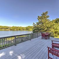 Bourne House with Furnished Deck and Waterfront Views!, hotel in Bourne