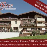 Hotel Garni Rifflsee, Hotel in St. Leonhard im Pitztal
