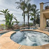 Luxury Ocean-View Getaway with Pool, Patio & Hot Tub