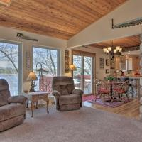 Airy Cottage with Dock and Views on Buffalo Lake!, hotel in Montello