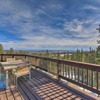 Peaceful Mtn Cabin with Deck and Views about 24 Mi to Breck, hotel in Fairplay