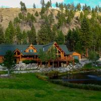 Custom Bitterroot Valley Cabin with On-Site Pond, hotel in Conner