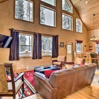 Scenic Mountain Cabin on 4 Wooded Acres and Hot Tub!, hotel in Fairplay