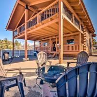 Pet-Friendly Cloudcroft Cabin - Walk to Shops&Food!