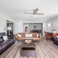 Family, Home, and Comfort 2 Min to Ark (3 bdrm)