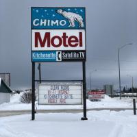 Chimo Motel, hotel em Cochrane