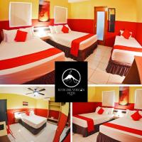 Hotel Ecos del Volcan, отель в городе Тикуантепе