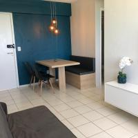 Apartamento 02 quartos completo, BEIRA-MAR com piscina