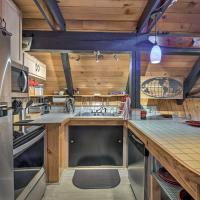 Quiet A-Frame Retreat with Hot Tub - Hike, Fish & Ski