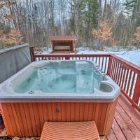 Secluded Johnsburg Outdoor Oasis - Private Hot Tub