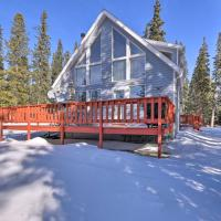 Quiet South Park City Escape with Furnished Deck, hotel in Fairplay