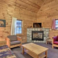 Pet-Friendly Family Cabin at the Double JJ Resort!, hotel in Rothbury