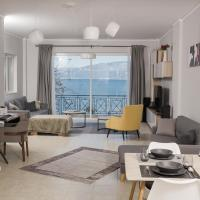 Comfy central apartment with Amazing View, hotel in Aigio