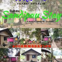 Sukau Sandipau Stay, hotel in Sukau