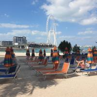 Apricus Holiday Homes - Beachfront 2BD in Al Bateen JBR