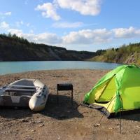 Camping in Aleksandrovsk, отель в городе Александровск