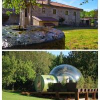 REMANSO DE TRASFONTAO Casa das Árbores & Bubble, hotel in Silleda