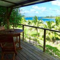 BLUE LAGOON LODGE HUAHINE/COTTAGE, vue mer et accés privé lagon