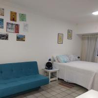 LINDO APART HOTEL COM PISCINA PROXIMO AO MAR