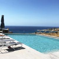 4 maisonettes with one swimming pool and a sea view, ideal for 3 to 4 familes or a group of friends